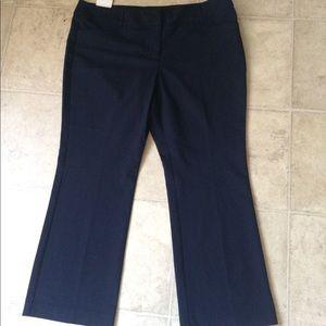 Pure Energy bootcut leg dress pants plus 22W